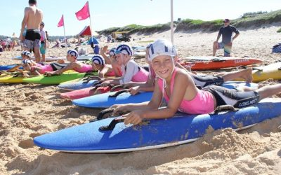 Current members of Long Reef Nippers