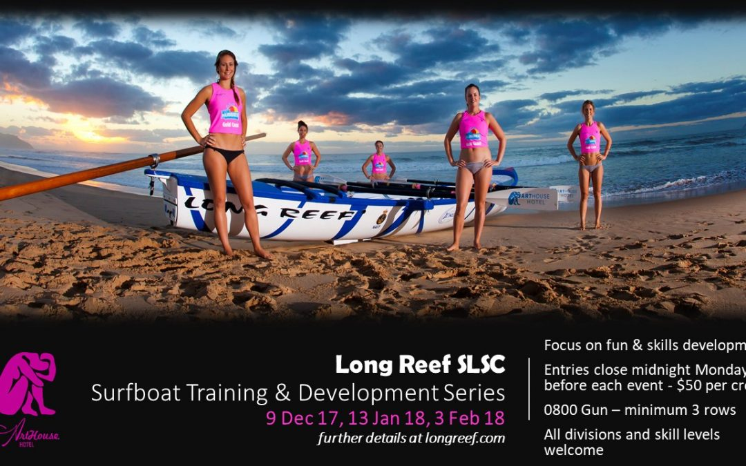 Longy Surfboat Training & Development Series