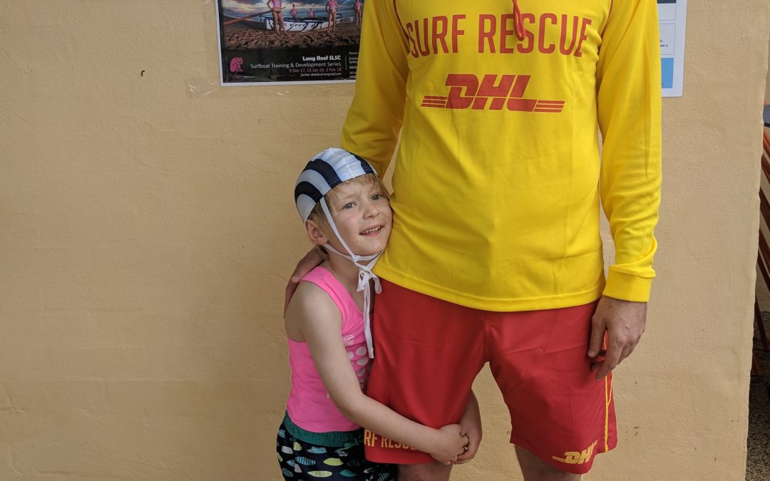 Young Alex Joins Longy SLSC in Memory of his Granddad Alan Chinner