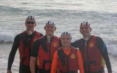 Three new IRB crew for Longy