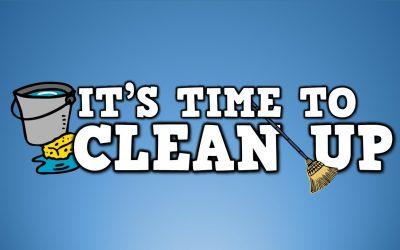 Help please: end of season club clean up