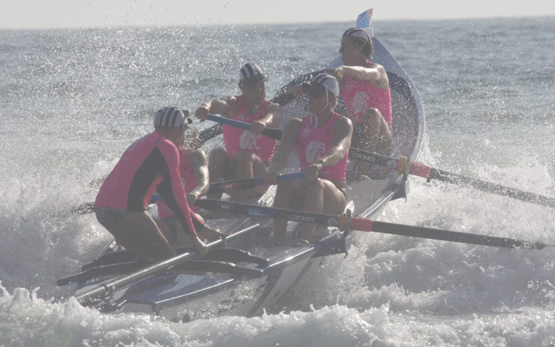 Apples place 2nd at Australia Day surf boat carnival