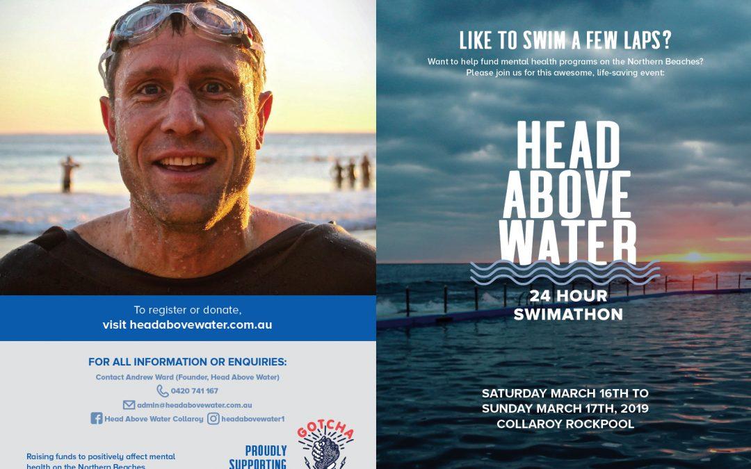 Head Above Water 24 Hour Swimathon