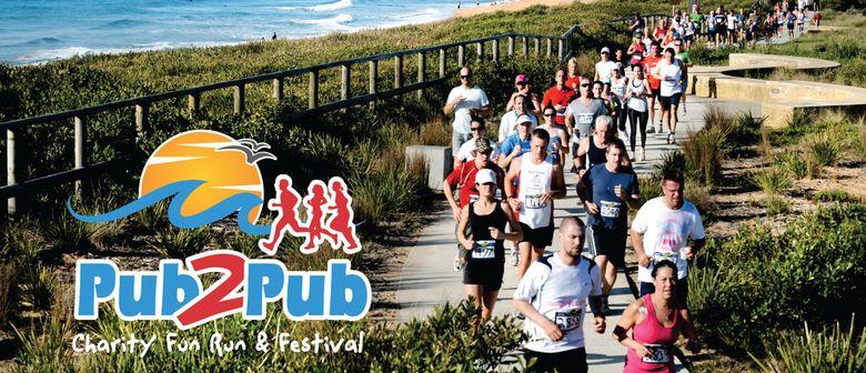 25% Off Pub to Pub Run/Walk Entry Fee