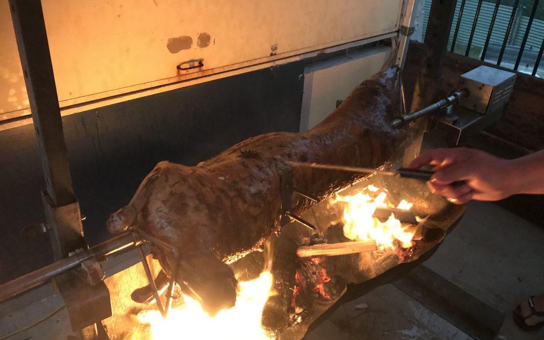 Roast lamb saves the night!