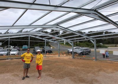 Long Reef SLSC Temporary Clubhouse, 20 October 2020