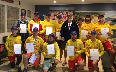 Long Reef Boat Crews awarded the NSW Premier's Bushfire Emergency Citation.