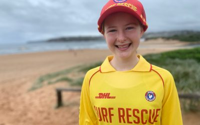 Sinead Fisher awarded a finalist in the 2020/21 Junior Life Saver of the Year Program.